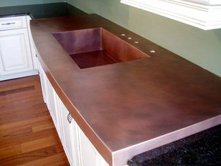 Copper Countertops Copper Kitchen Copper Countertops Countertops