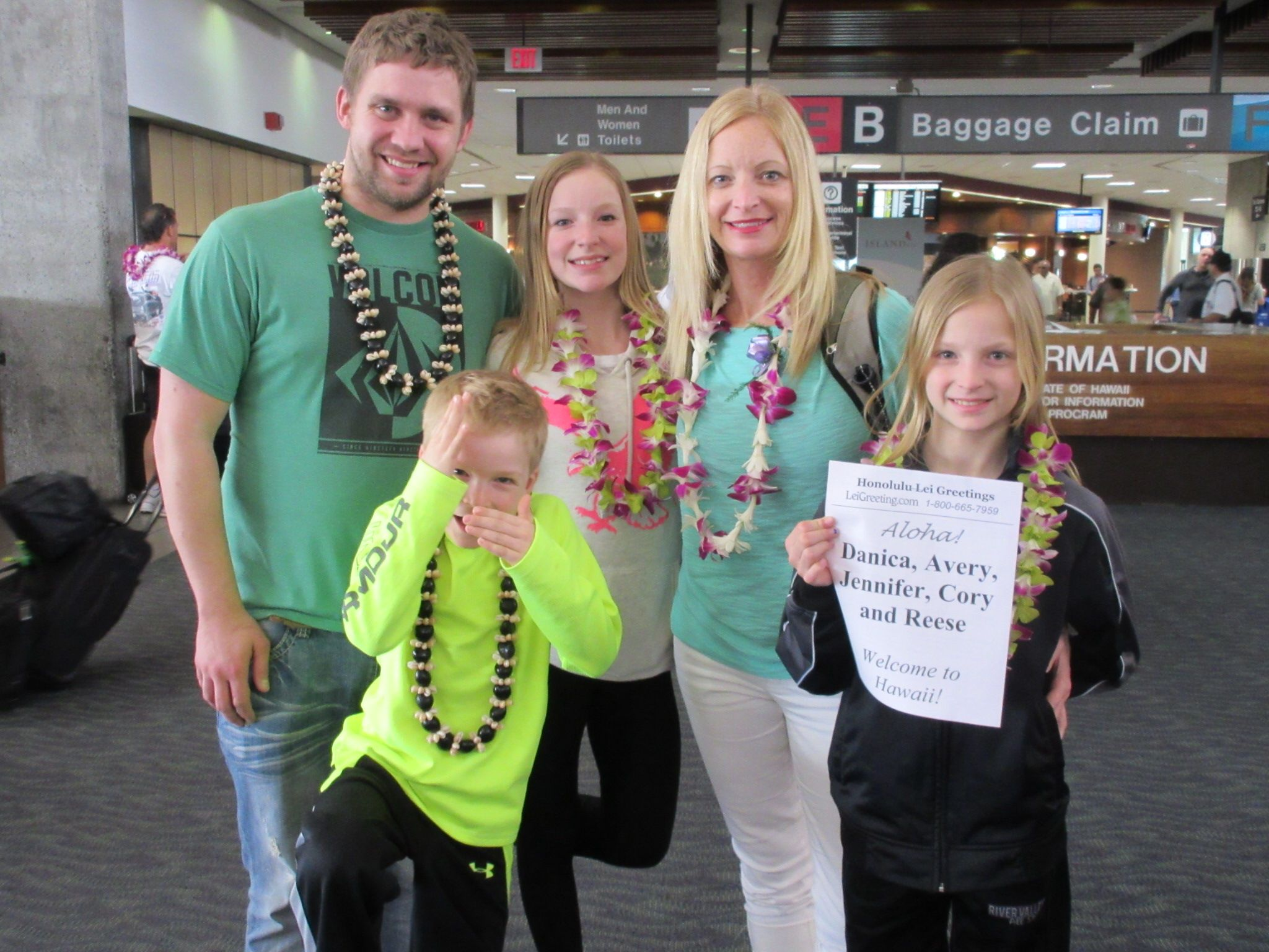 Here To Spend Their Spring Break Vacation In Hawaii Is Danica Avery