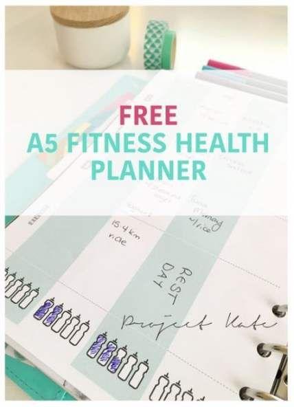 38+ Trendy fitness planner free life #fitness