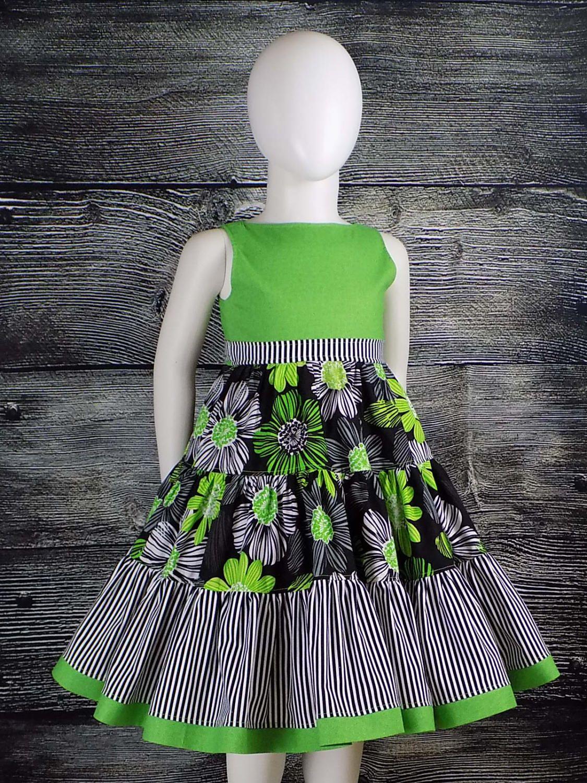 Girl, Floral Dress, Summer, Toddler, Teen, Big Hug