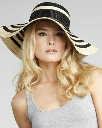 As an essential movie star accessory, the floppy, wide-brimmed hat is ...