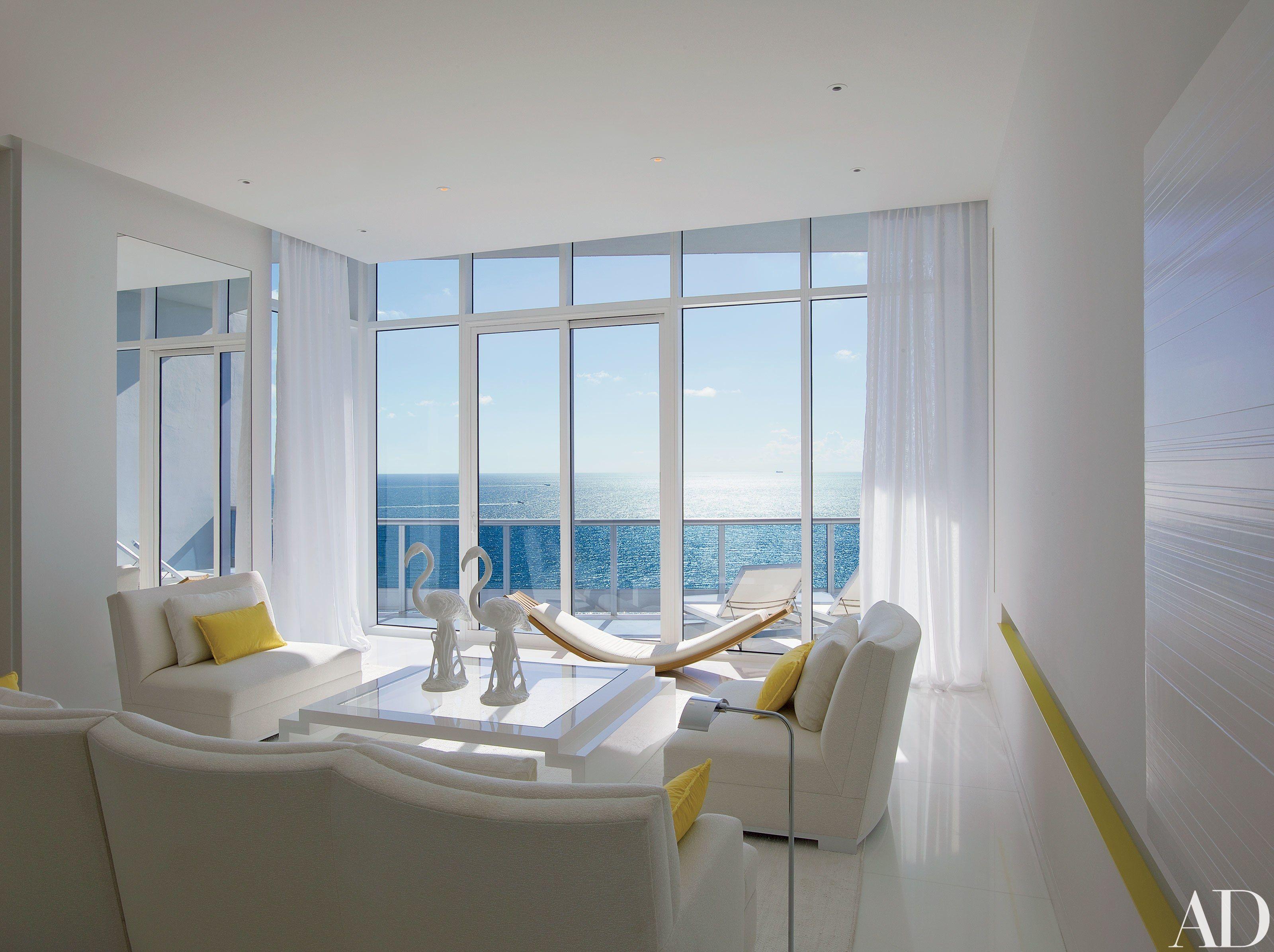 Jennifer post designs a modern marvel in miami beach photos architectural digest