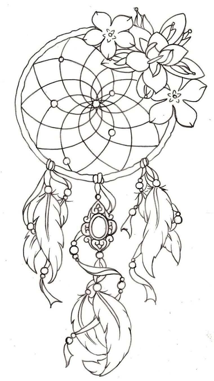 Attrape rêve dessin - comment réussir le dessin capteur de rêve ...