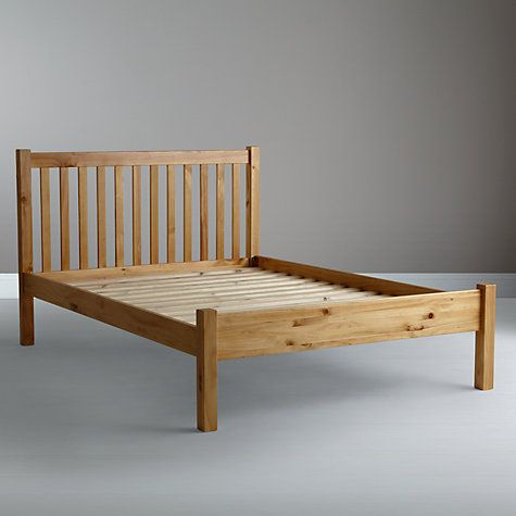 John Lewis Wilton Bed Frame, Double, White | John lewis, Bed frames ...