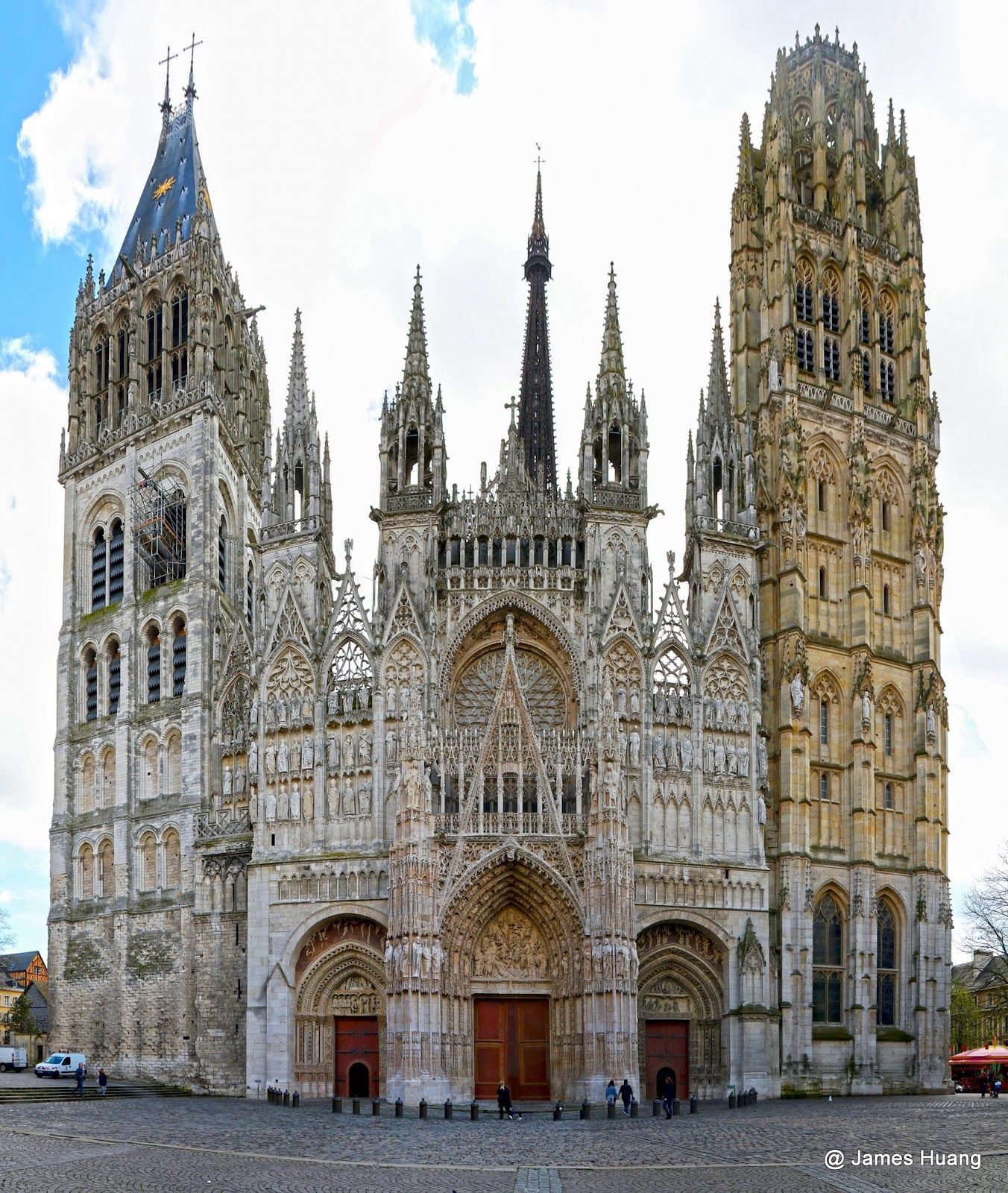 Cathedrale Notre-Dame de Rouen, Rouen, France (avec images ...