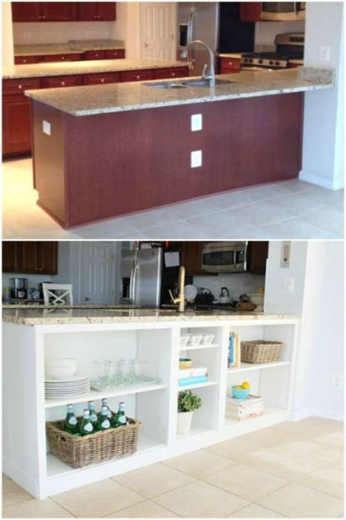 100 Best Home Organization Hacks For Every Single Room In Your House Ikea Kitchen Island Kitchen Island Storage Diy Kitchen Island