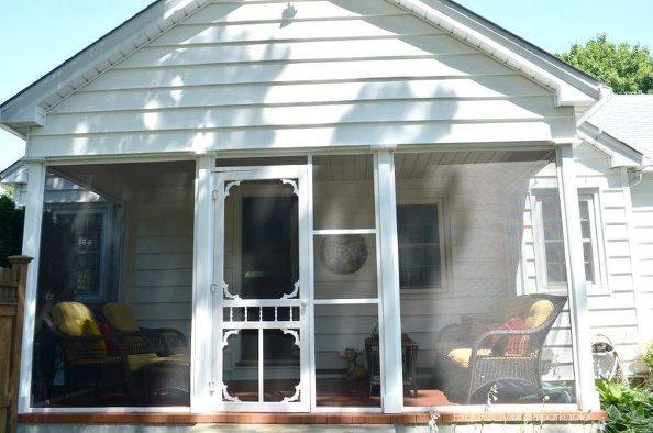 Do It Yourself Home Design: Do It Yourself Screened In Porch, Concrete Masonry, Decks