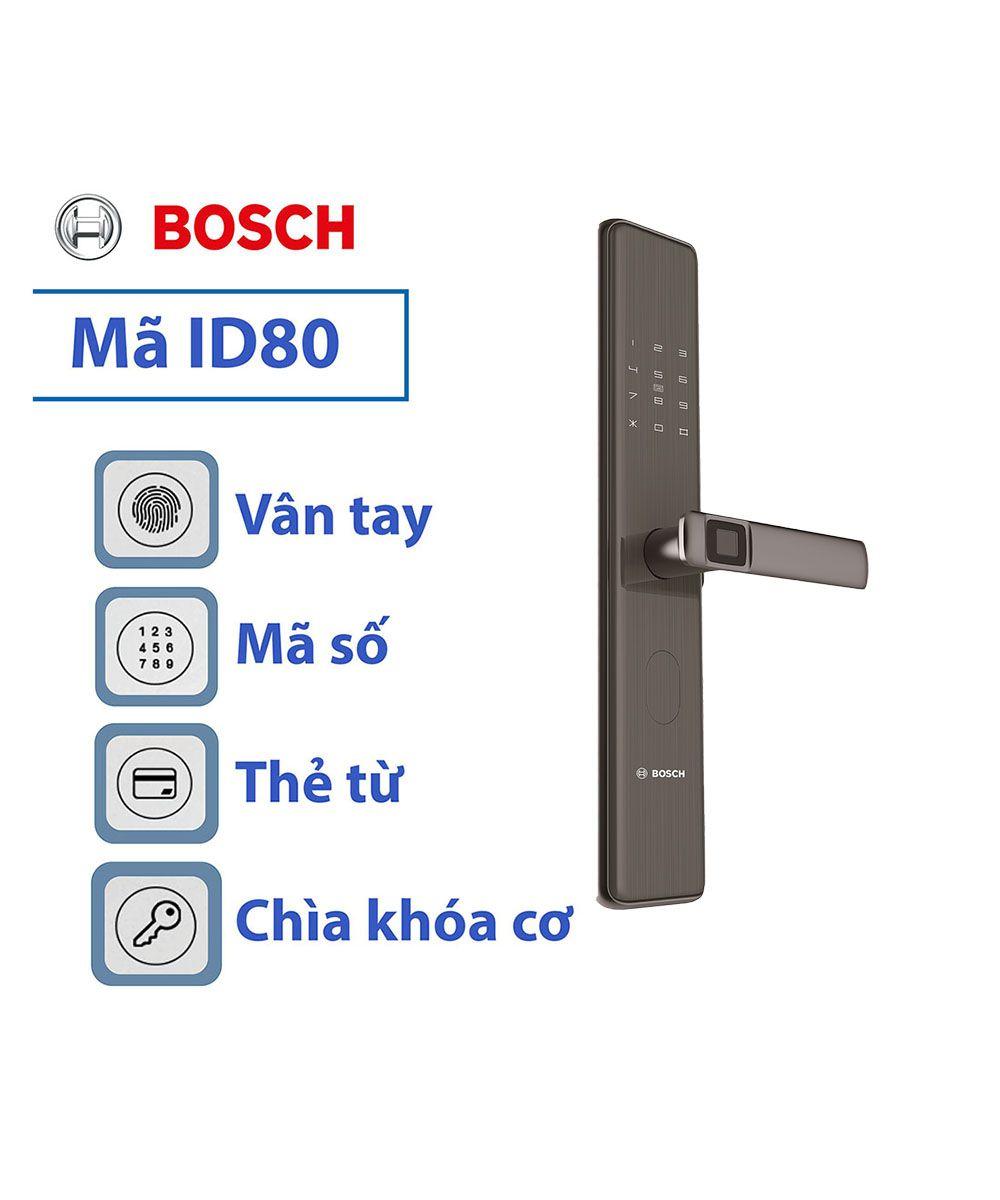 Khoa Cửa điện Tử Bosch Id30b Trong 2020 Cửa Sổ