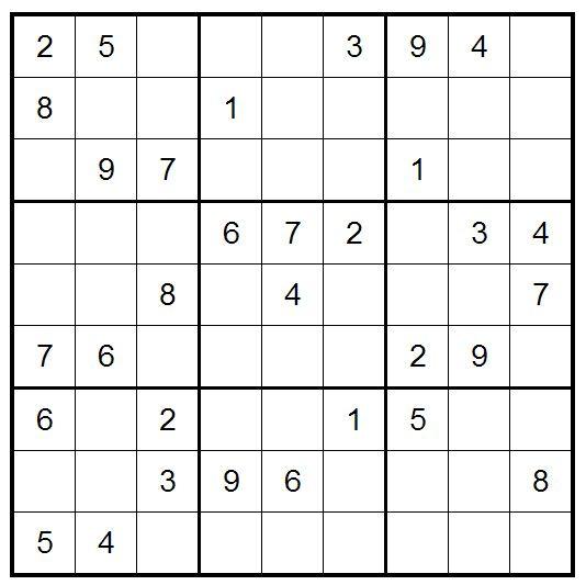 Today\u0027s easy Sudoku to get you started Sudoku Pinterest