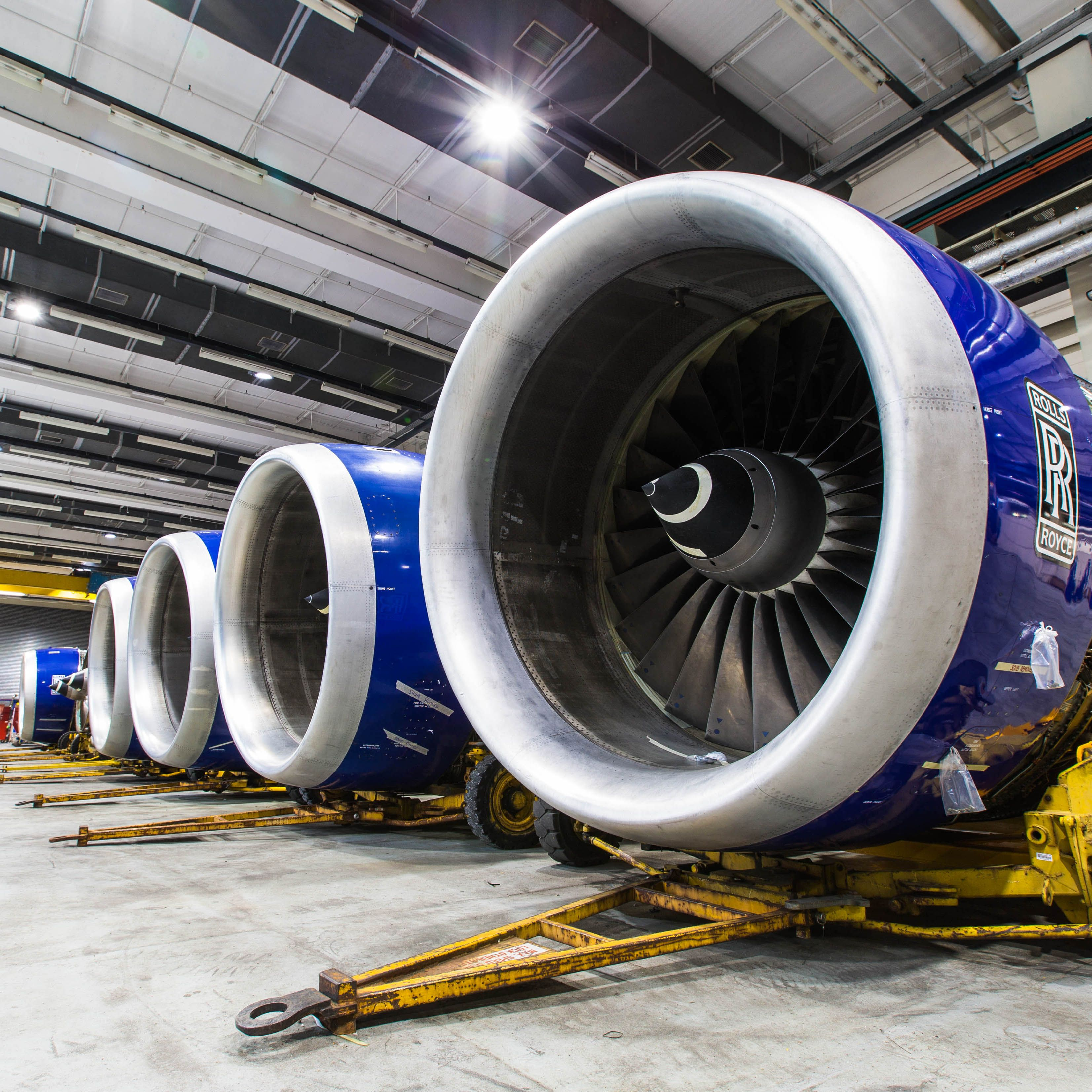 The Rolls Royce engine of our Boeing 747-400 | Aviation n