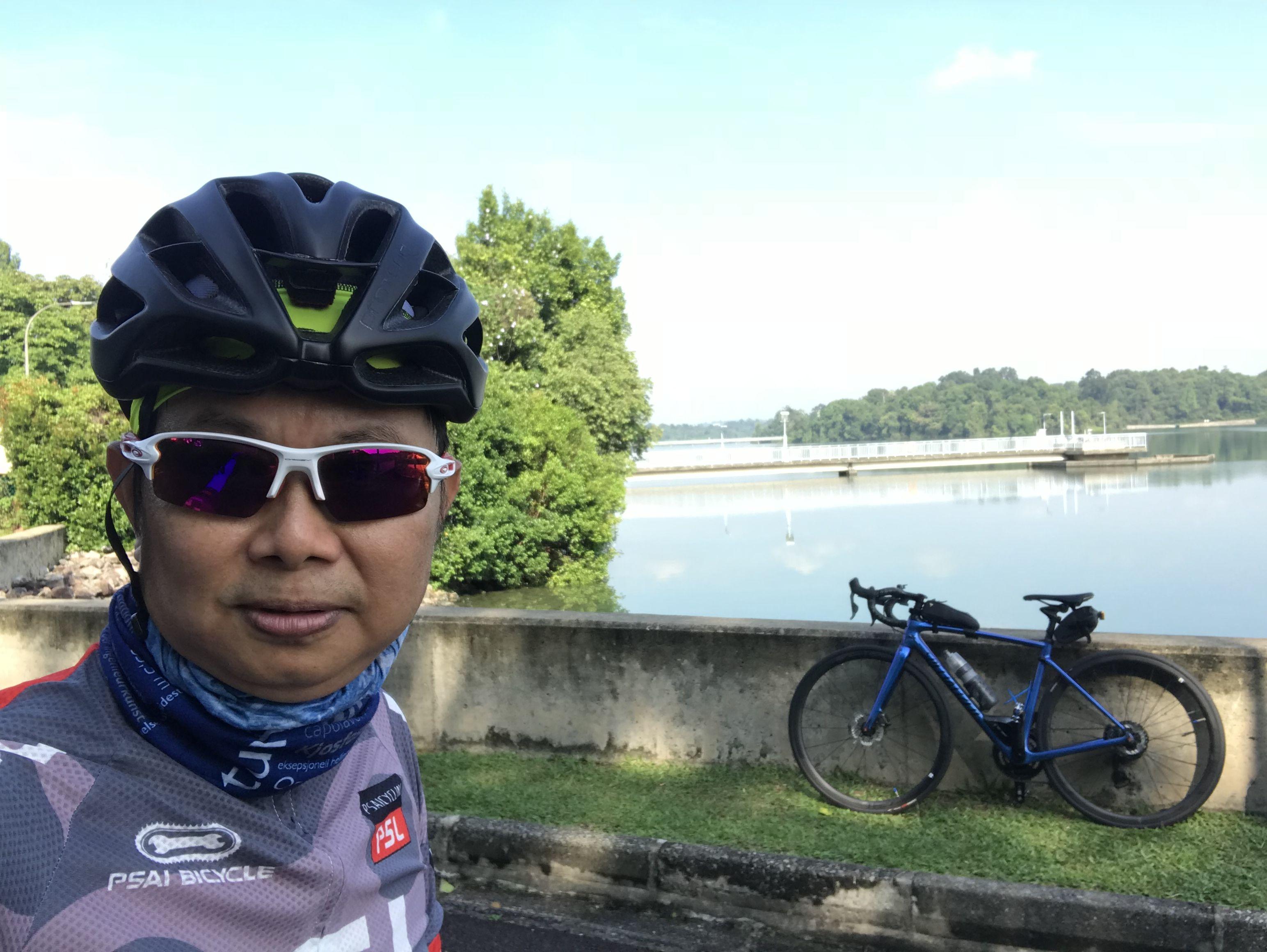 My Sanctuary At Upper Pierce Reservoir Helmet Bicycle Helmet Bicycle