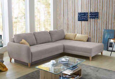 Home Affaire Ecksofa Mit Bettfunktion Couch Sofa Polsterecke Wohnzimmer