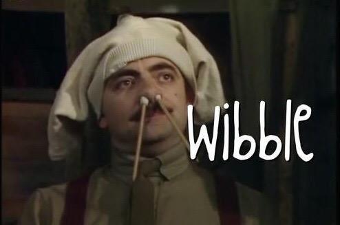 Blackadder wibble | Blackadder, Tv programmes, British sitcoms