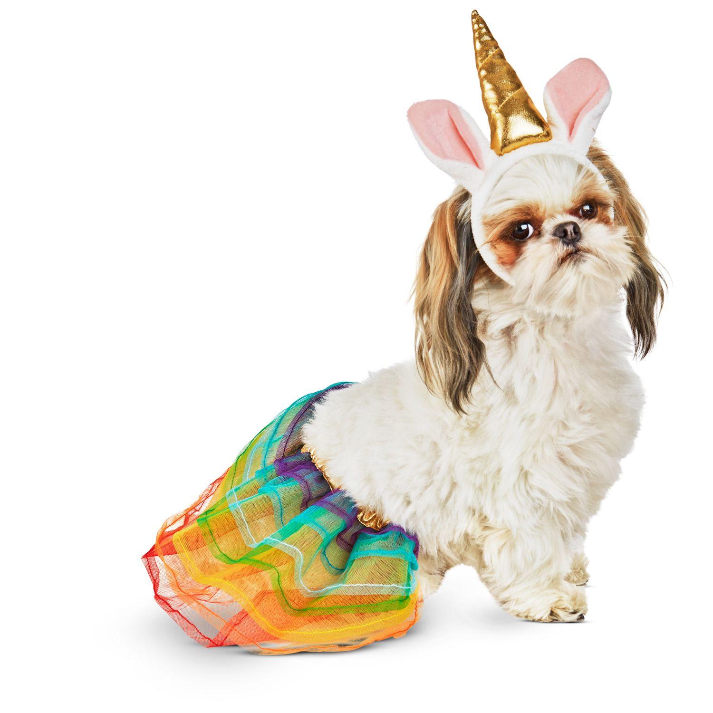 Petco Halloween Neon Unicorn Dog Costume Dog Halloween Costumes