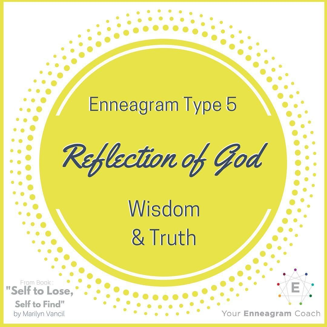 "83 Likes, 7 Comments - Beth McCord (@yourenneagramuniversity) on Instagram: ""#Enneagram #Type5 - when you surrender your control over your life and allow Christ to lovingly…"""