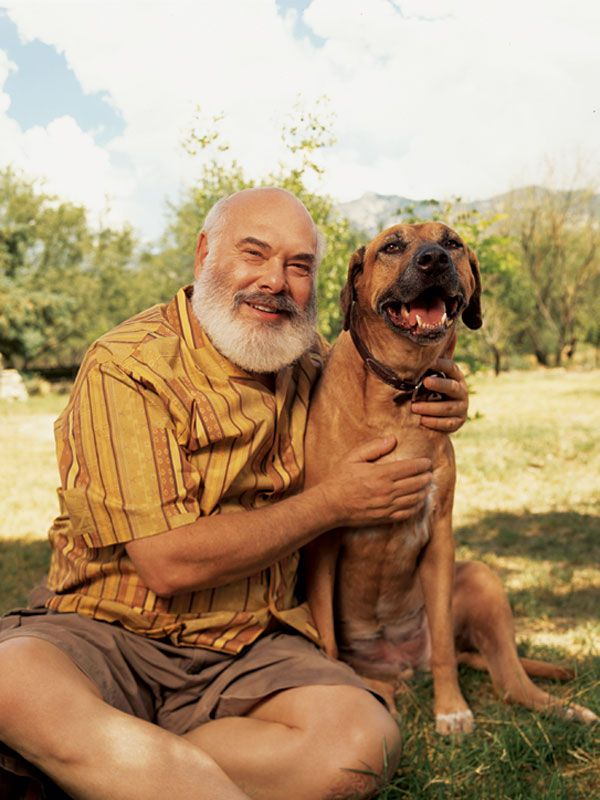 Dr  Andrew Weil & Ajax ~ was born 06-08-1942  He is a Teacher