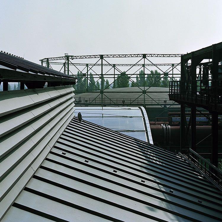 Landschaftspark Duisburg Nord Foil Cushion Roof