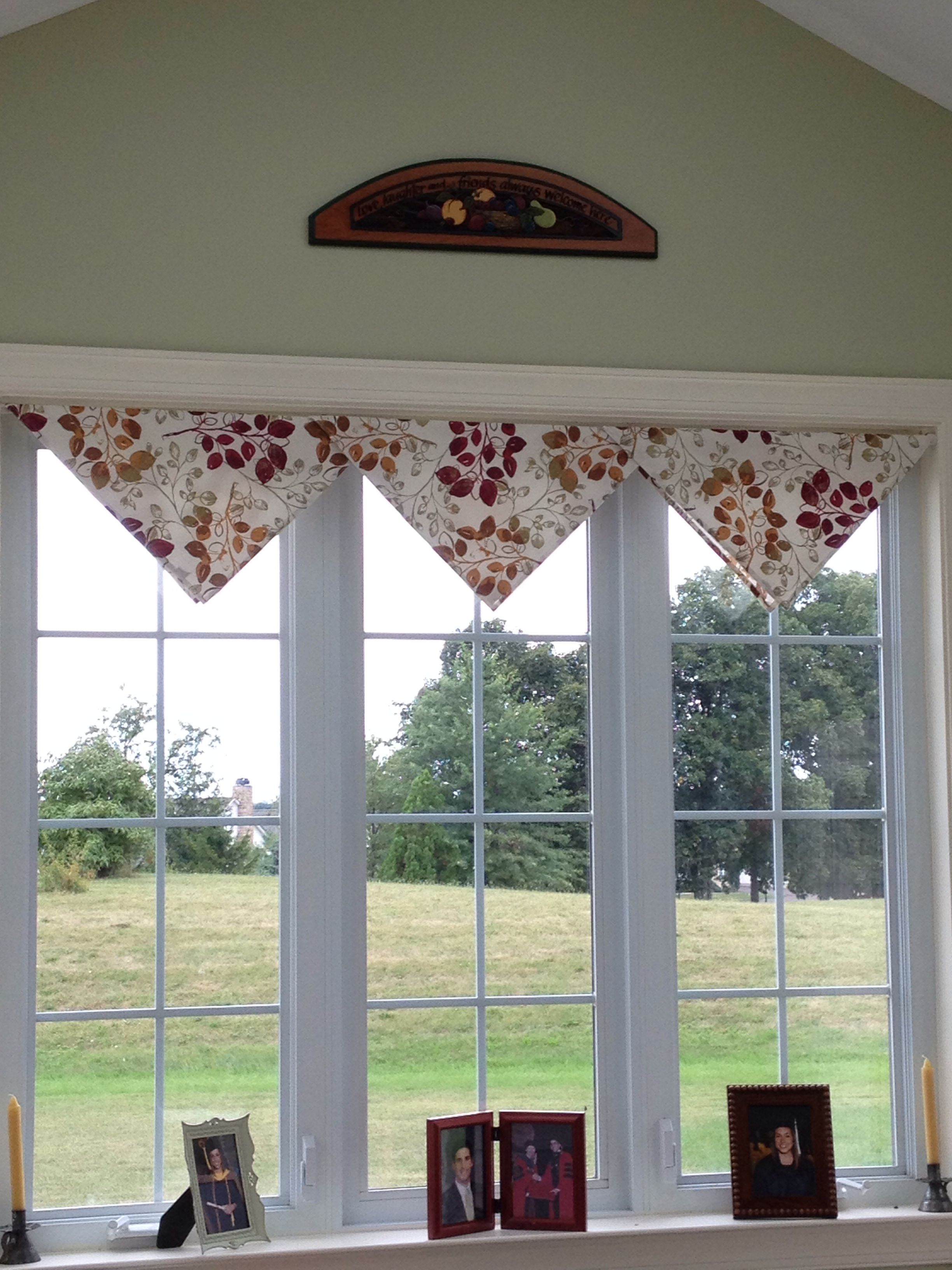 Fast Easy And Economical Idea For Valances I Used Large