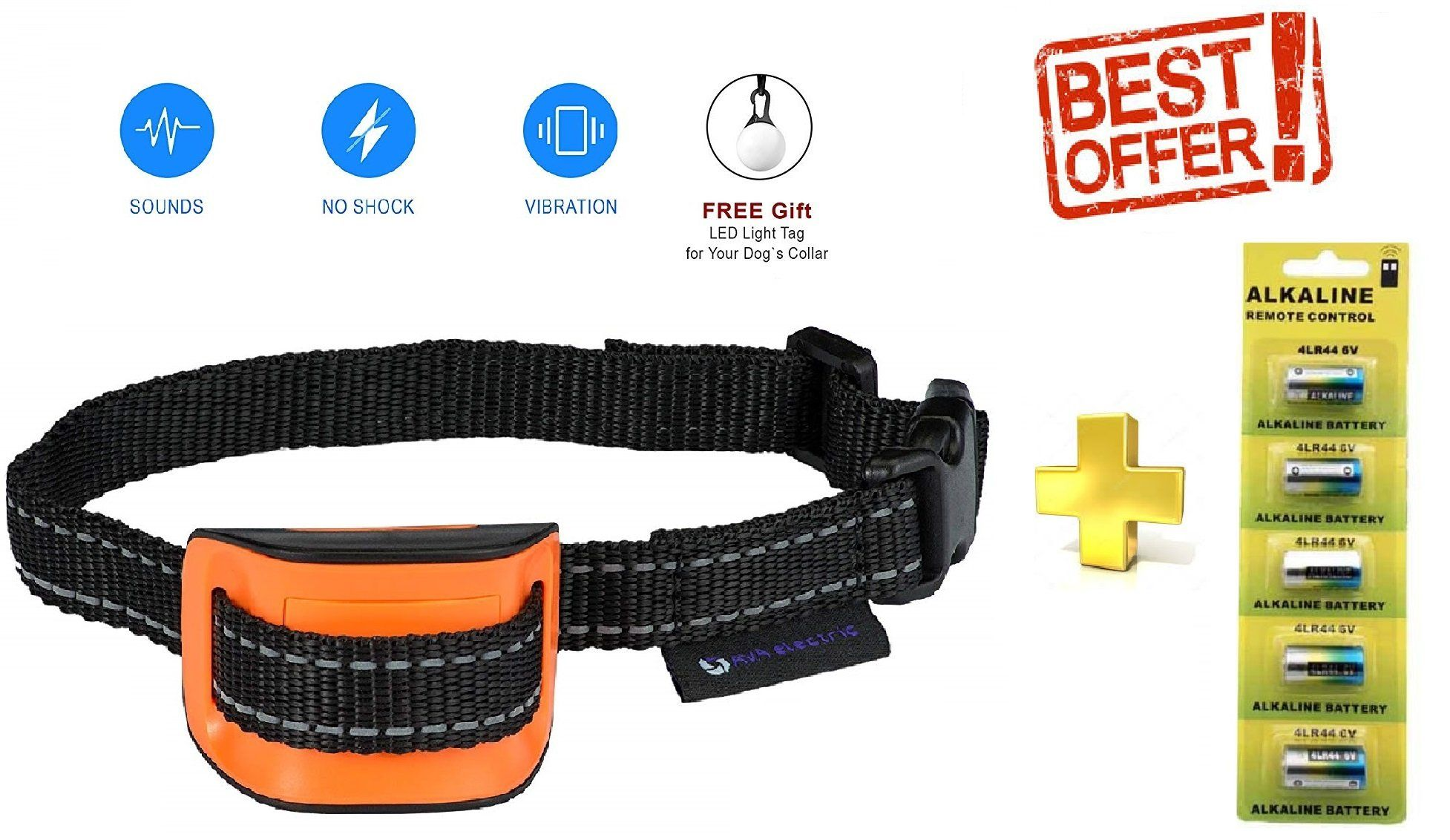 Elite Big Dog Static Bark Collar By Petsafe Pbc00 12725 Battery