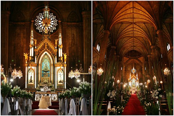 Basilica Minore De San Sebastian Minor Of Manila Philippines Wedding Churchchurch