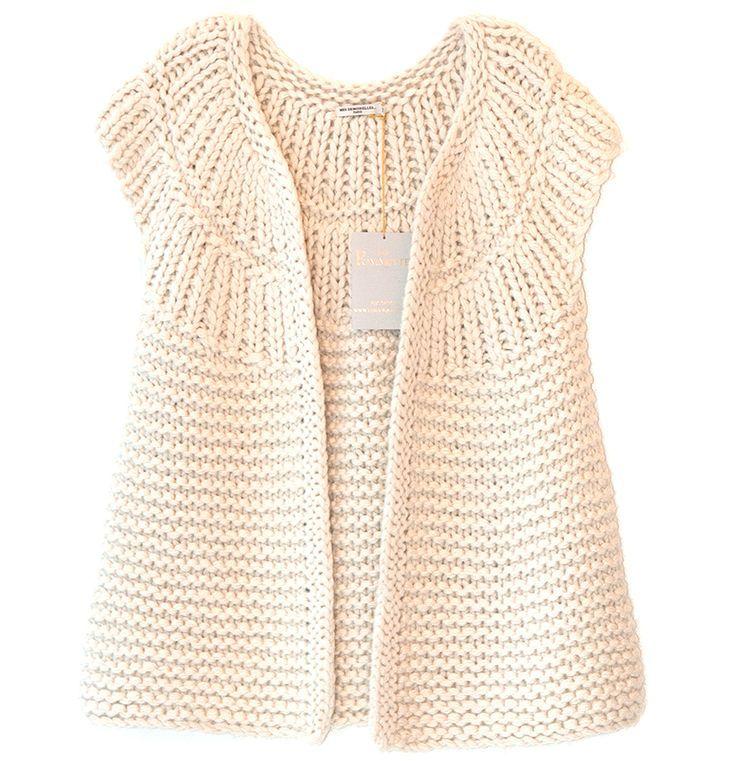 chaleco tejido | chaqueta original | Pinterest | Tricot, Tricot et ...