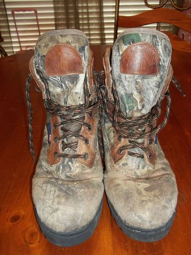 Details About Mens Size 10 Camo Hunting Boots 100