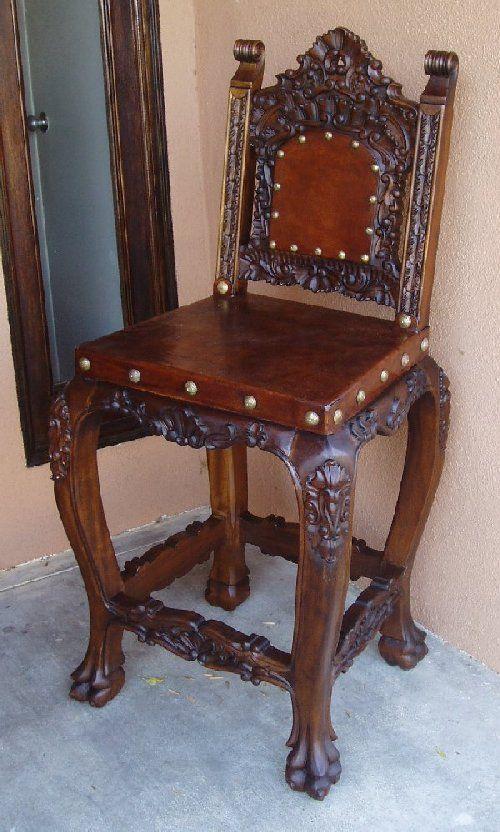 Renaissance Architectural   Renaissance Chairs, Spanish Colonial .