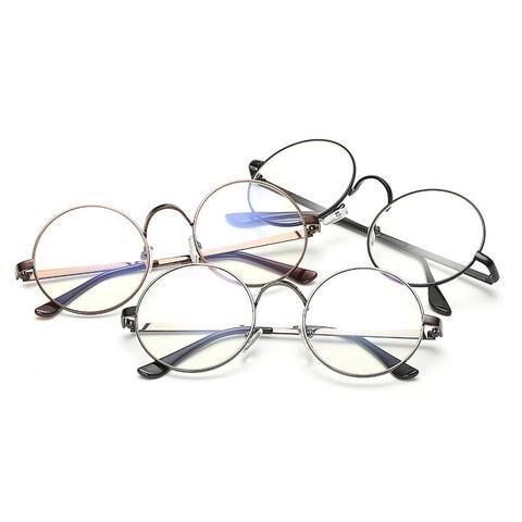23ab5085bc Unisex Round Glasses Metal Frame for Myopic or Reading Spectacles  Framemodlilj