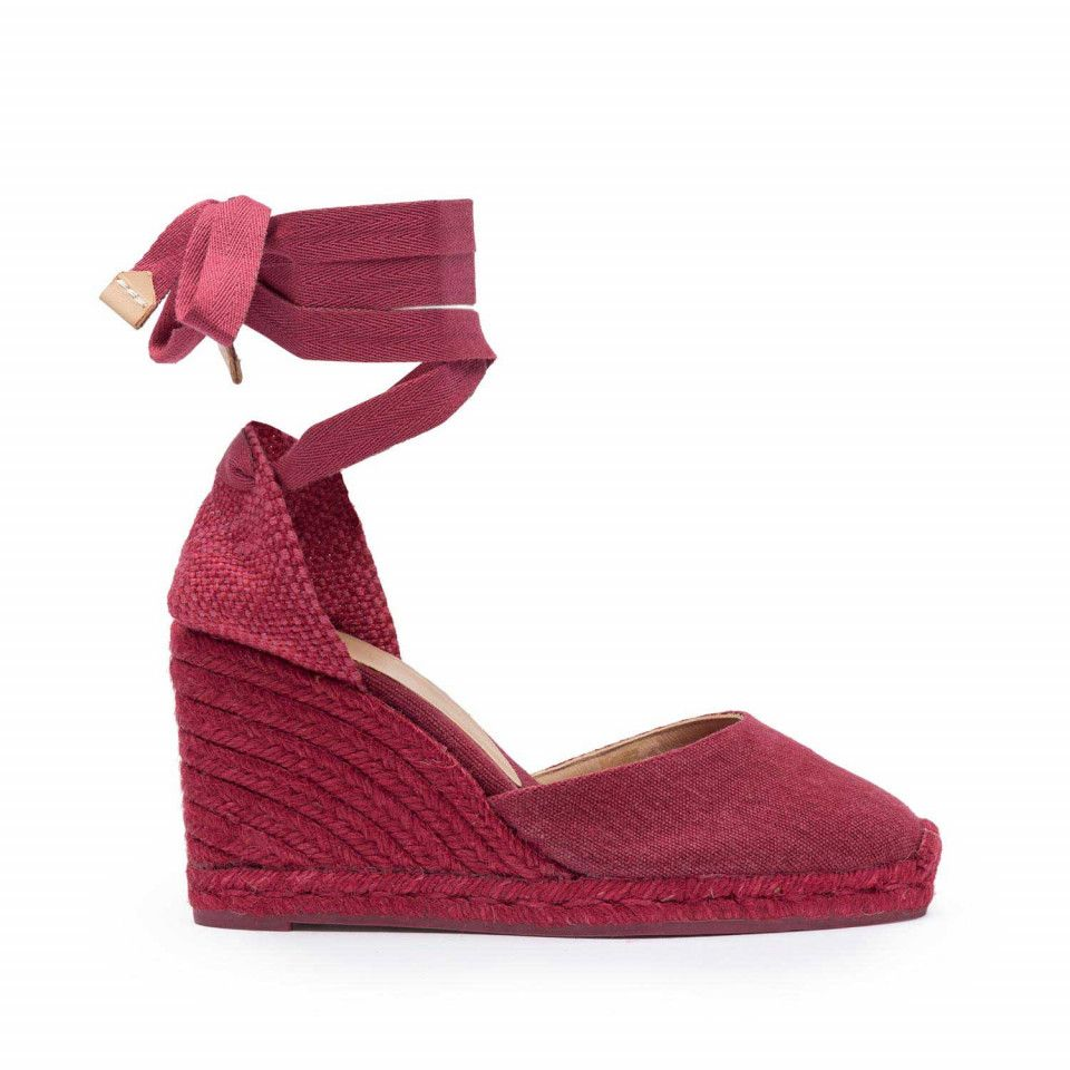 0269fea6d9a Carina Wedge espadrille with color jute