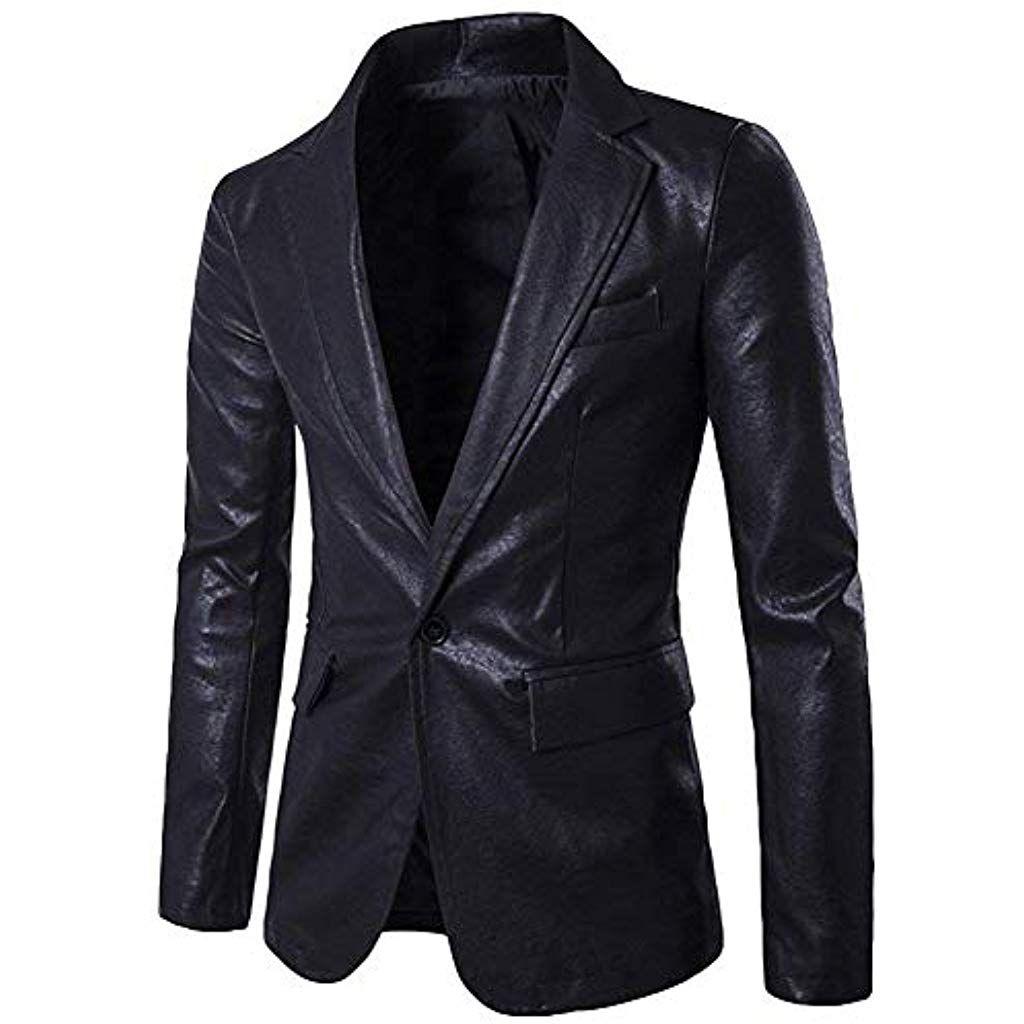 Giacche Eleganti Da Uomo In Pelle Blazer Giacche Da Uomo