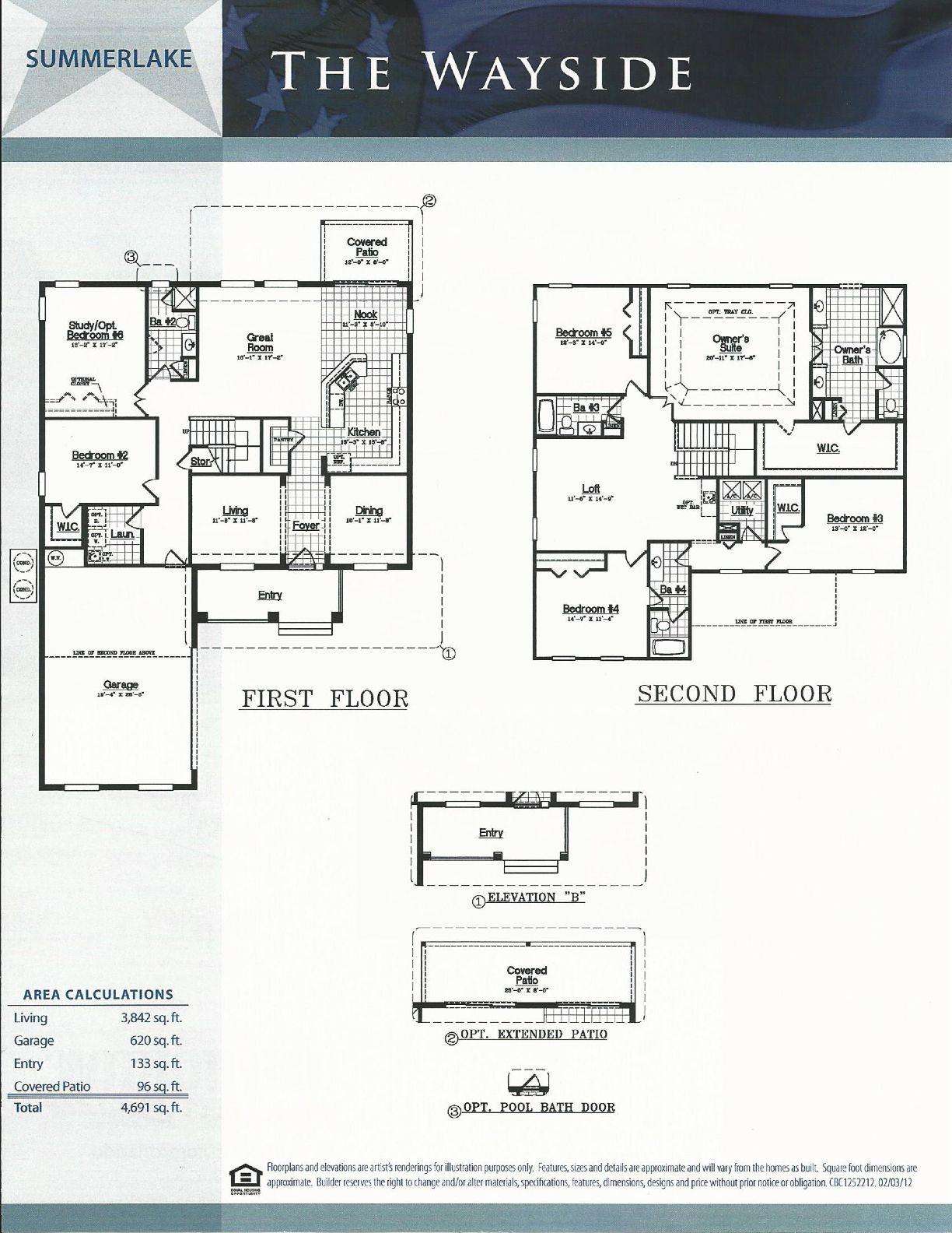 Summerlake Dr Horton Homes Wayside Floor Plan In Winter Garden Fl Horton Homes Dr Horton Homes Winter Garden