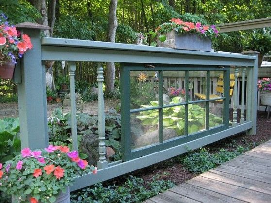 creative recycling ideas for the garden! recycled window and ...