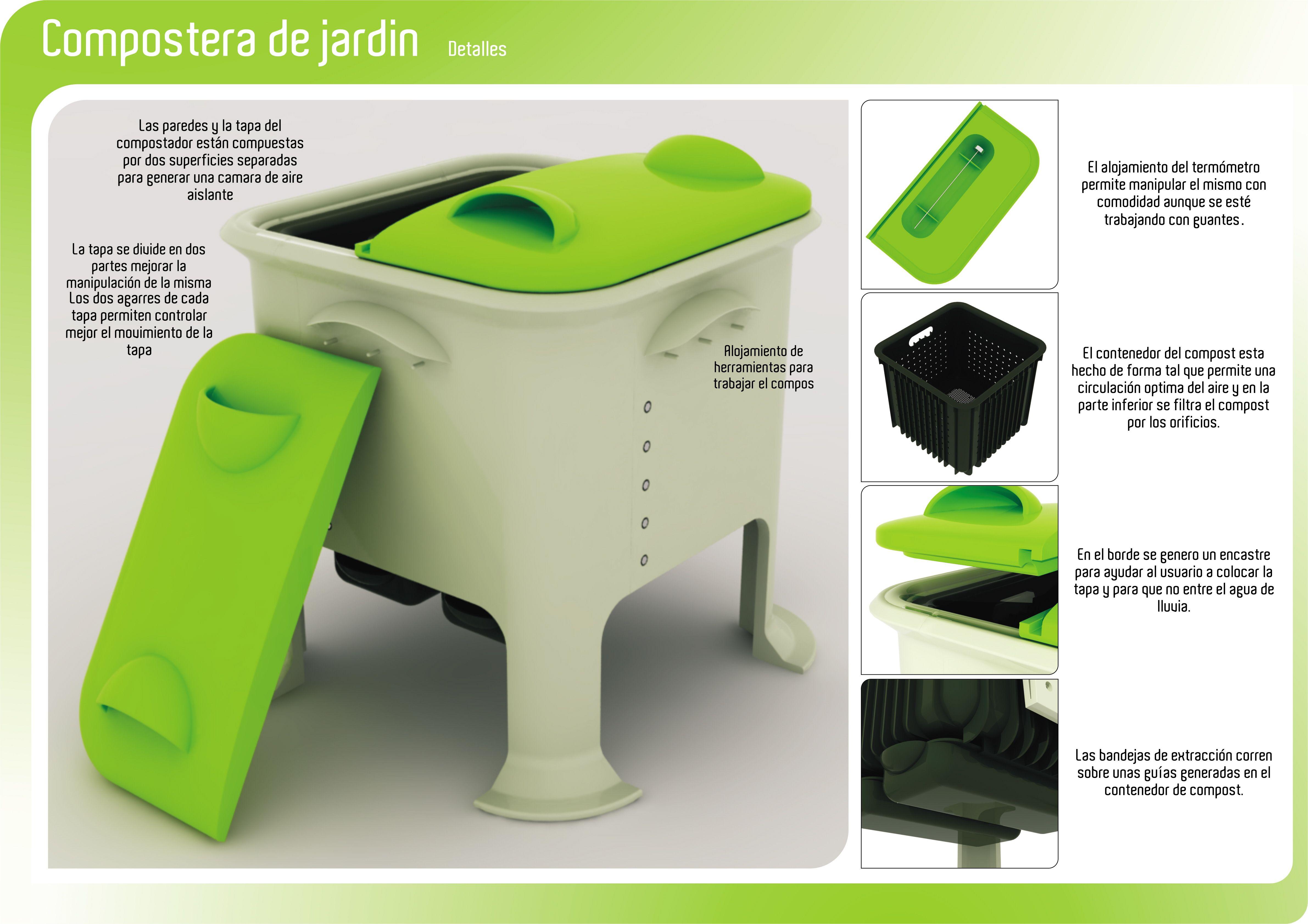 Tener una compostera en tu hogar es de suma importancia, no solo te ...