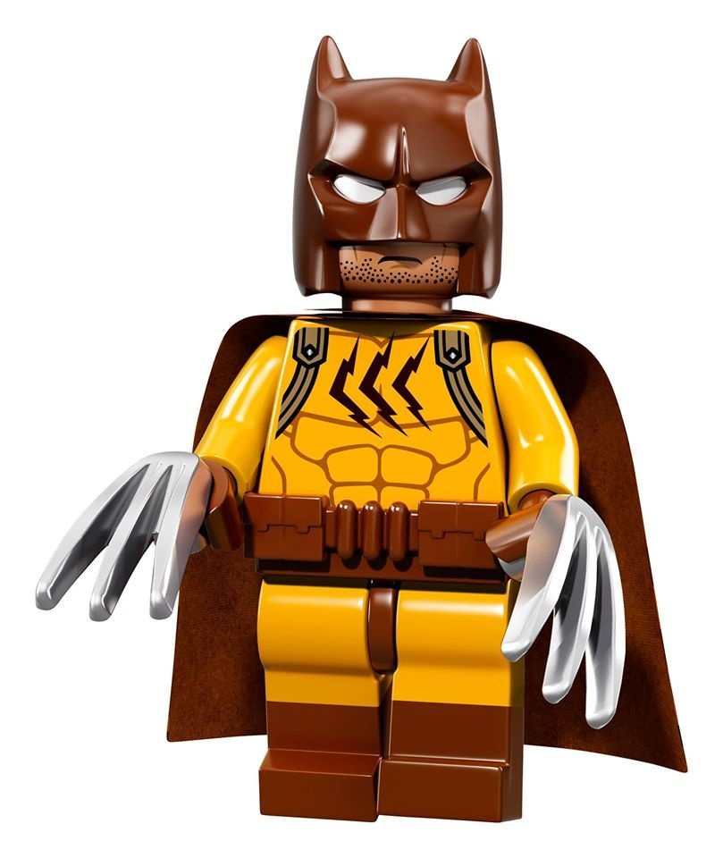 LEGO 71017 GLAM METAL BATMAN LEGO BATMAN THE MOVIE MINIFIGURE SERIES