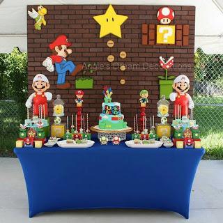 15 Ideas De Decoración Para Fiesta Super Mario Fiesta De Mario Bros Decoracion De Mario Bros Fiesta De Cumpleaños De Mario