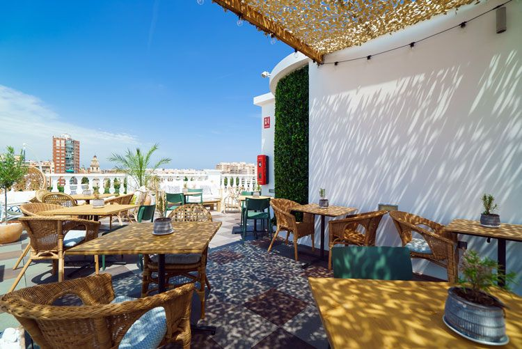 Terraza Blanq Is An Oasis Of Peace In The Middle Of Busy El