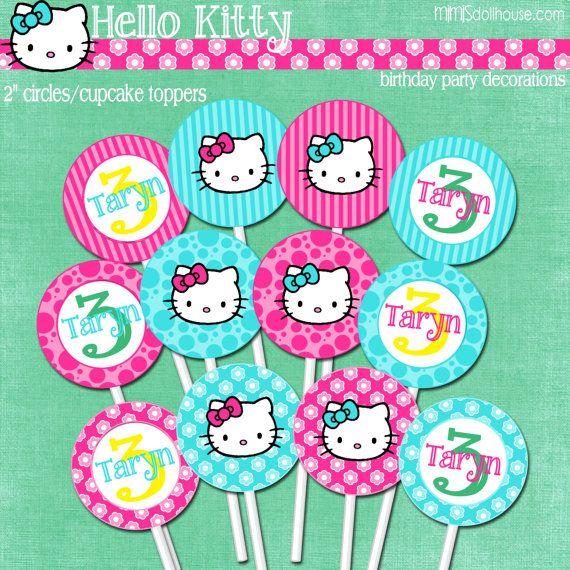 Hello Kitty Banner Printable Hello Kitty Happy By