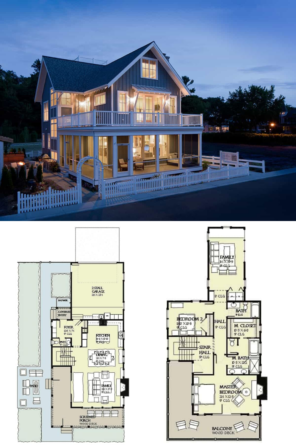 Three Story 4 Bedroom House With Plenty Of Outdoor Living Spaces Floor Plan Beach House Plan Floor Plans Beach House Vacation