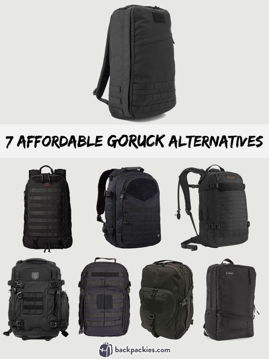 7 Affordable Goruck GR1 Alternatives | Alternative, Survival gear ...