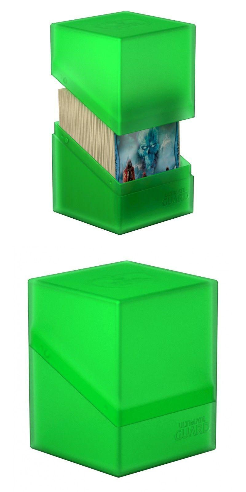 Deck Case 100 Light Blue Deck Box NEW Ultimate Guard Flipside Plastic