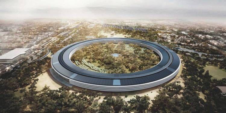 Sur le nouveau campus d'Apple, les enfants des salariés ne