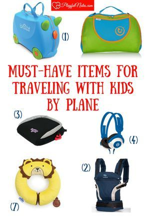 Travel with kids | Items for traveling with kids | Family travel | Packing list | Travel products for kids | Must have items for traveling with kids We travel often with our little boy, so I discovered a lot of great products that make our trips easier! This is our list of 10 must-have items for traveling with kids by car or by train, I hope it will be useful for you too!