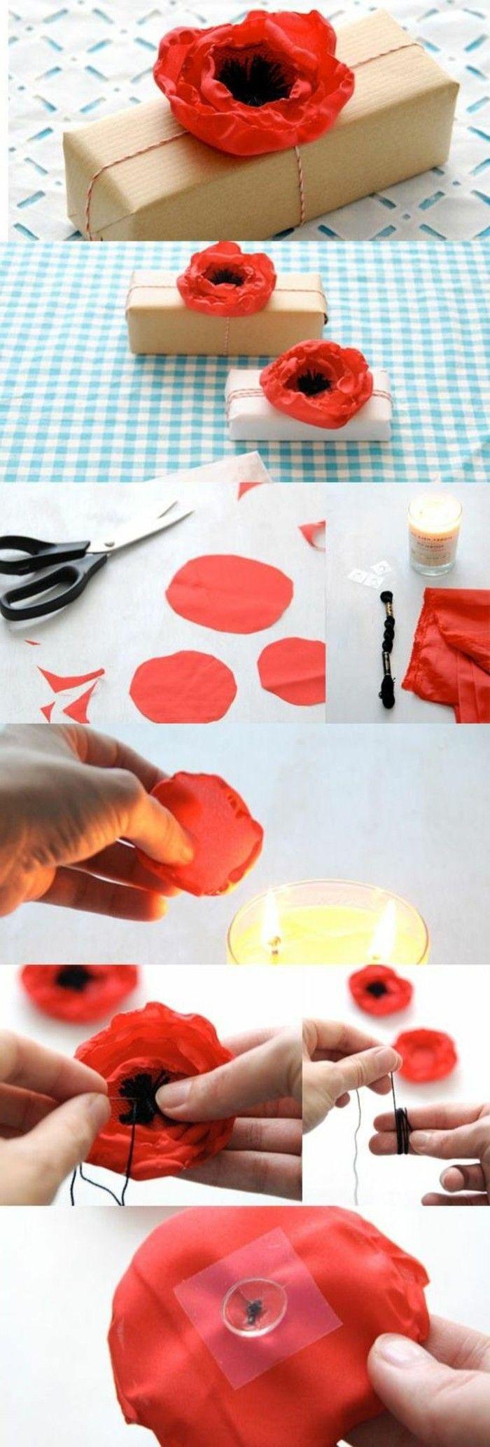 1001 id es comment faire des fleurs en tissu impressionnantes fleurs en tissu. Black Bedroom Furniture Sets. Home Design Ideas
