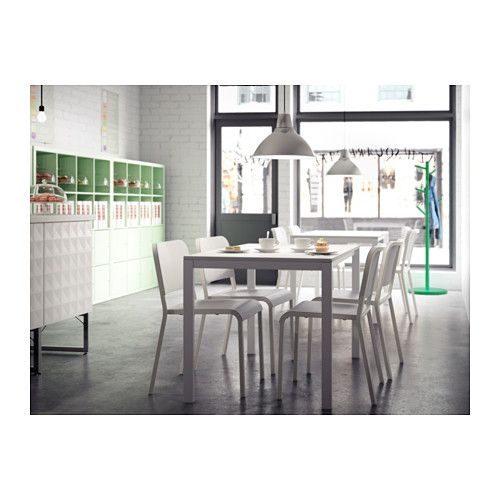 Melltorp Tafel Wit.Melltorp Tafel Wit Apartment Inspiration Tafels En Gezinnen