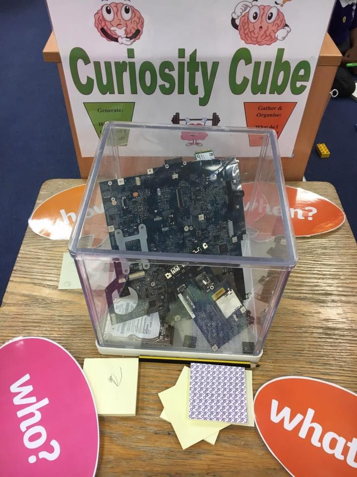 Curiosity Cube: Technology and I.T