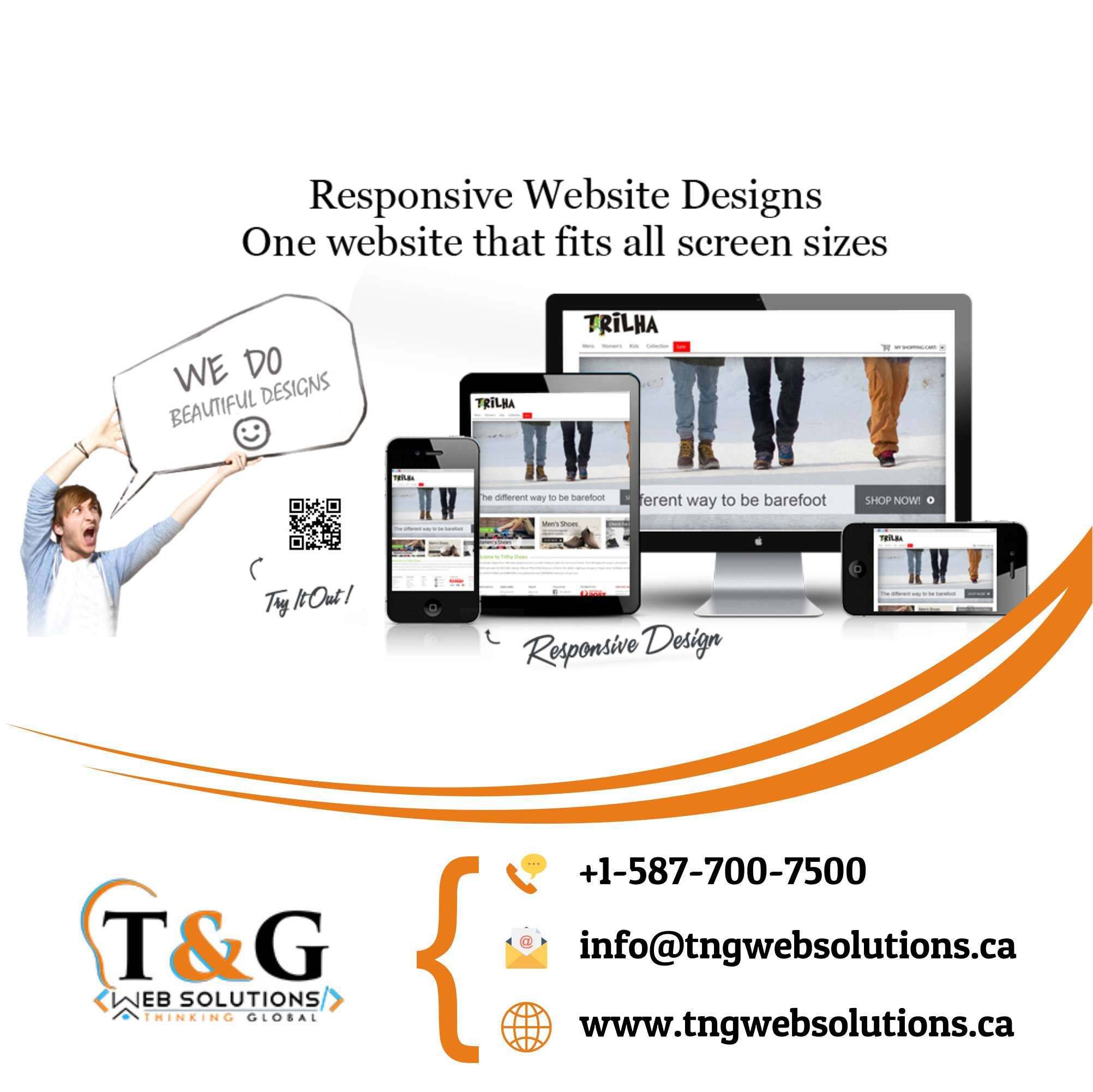 T G Web Solutions Web Design Choosing The Right Web Design Company Can Make A World Of Website Design Services Web Design Company Digital Marketing Services