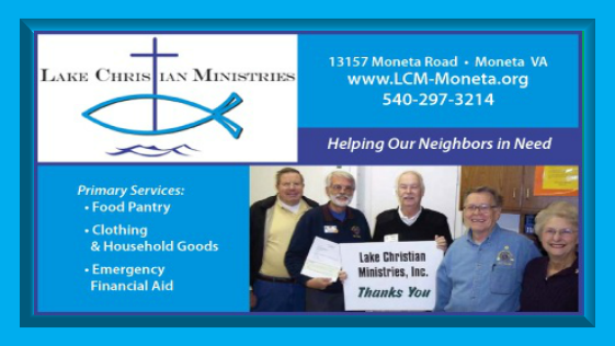 Lake Christian Ministries...providing food, crisis financial aid, clothing and other essential household items, to low income individuals and families who are experiencing unemployment, illness, or family disruptions. http://myvirginiadirectory.com/listing/lake-christian-ministries-4dcddcca1bd09.html