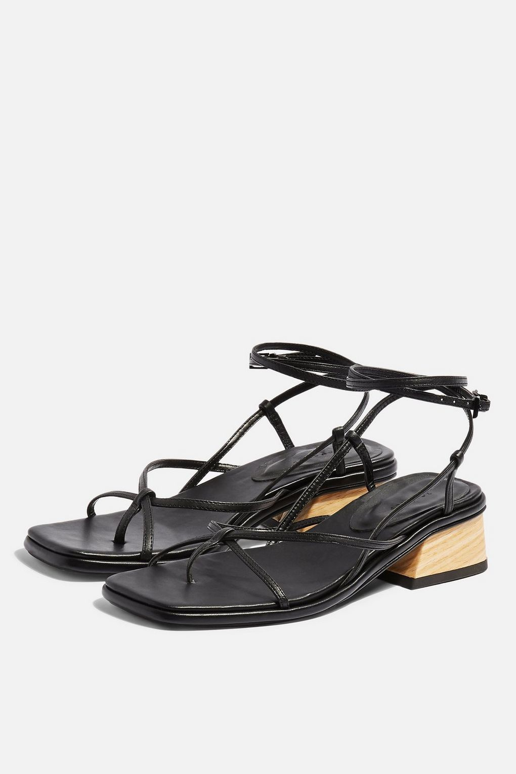 767a90c0819 Strappy sandals @Topshop Strappy Sandals, Topshop, Leather, Black, Shoes,  Fashion