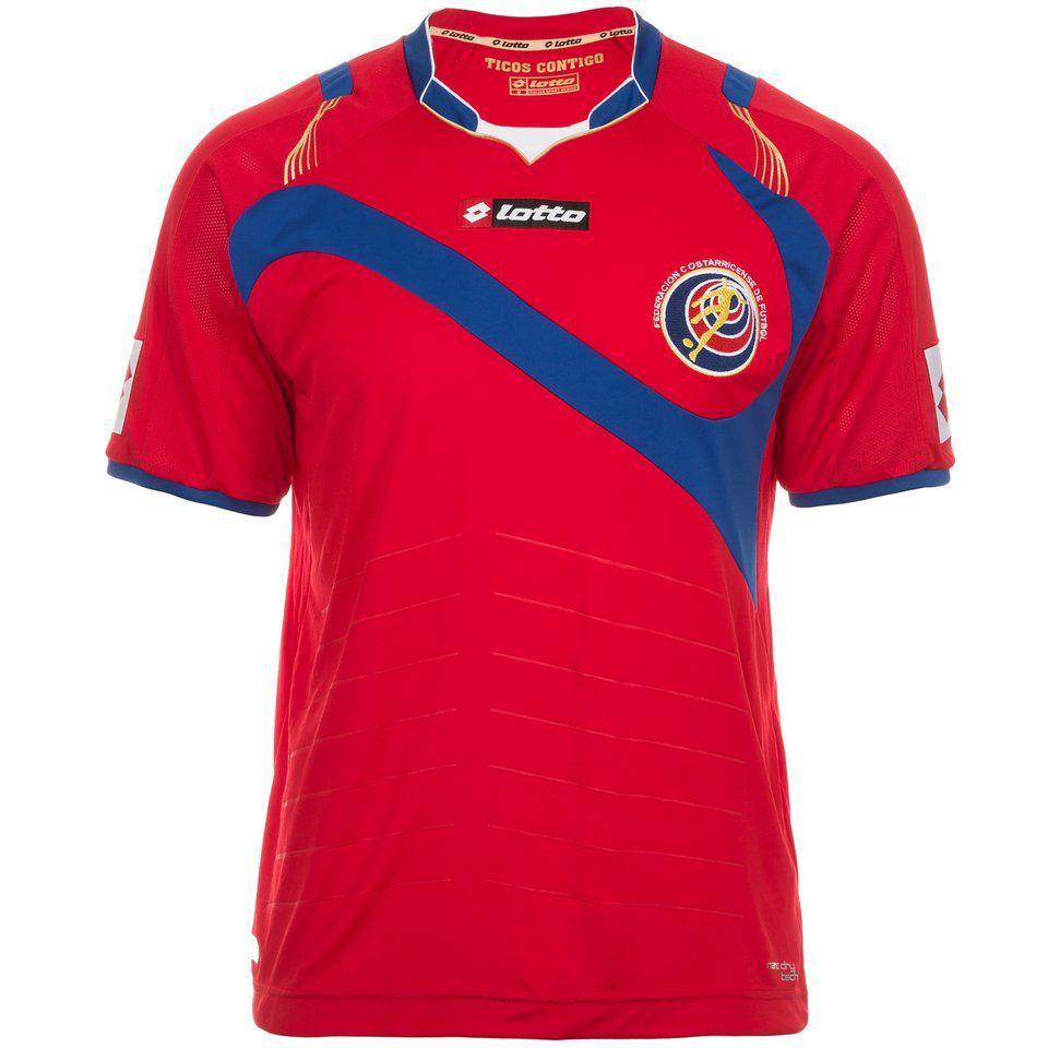 LOTTO Costa Rica Trikot Home WM 2014 Herren im Online Shop von Ackermann Versand #WM2014