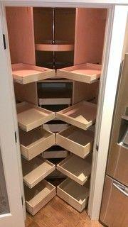 Pin By Jennifer W On Clean Organized Corner Pantry Cabinet